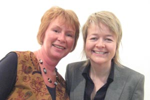 Lynsey Ashford and Sarah Waters