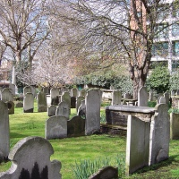 Silicon Roundabout meets Bone Hill - Bunhill Fields