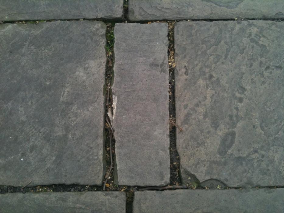 paving stones, Bunhill Fields